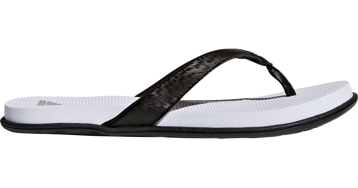 a55beaa8c94 Lyst - adidas Cloudfoam One Thong Sandals in Black