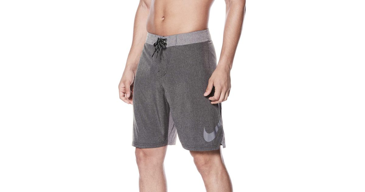 85df08cc9cbd7 Nike Black Heather Vortex Board Short for men