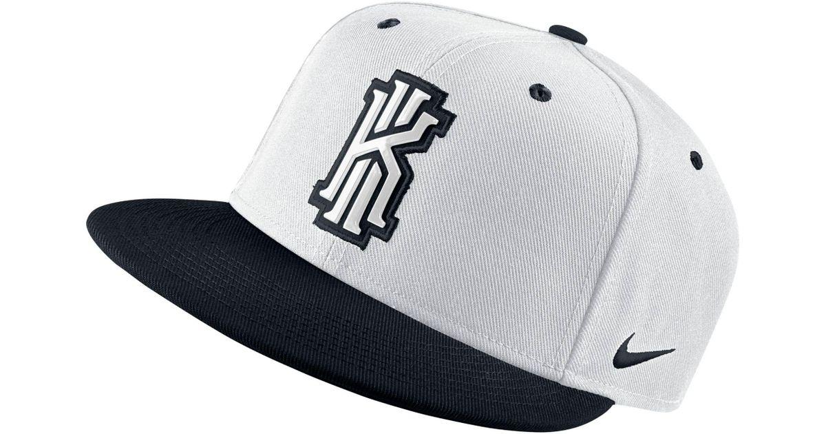 be30577dd1b Lyst - Nike Kyrie Irving 2 True Snapback Hat in Black for Men