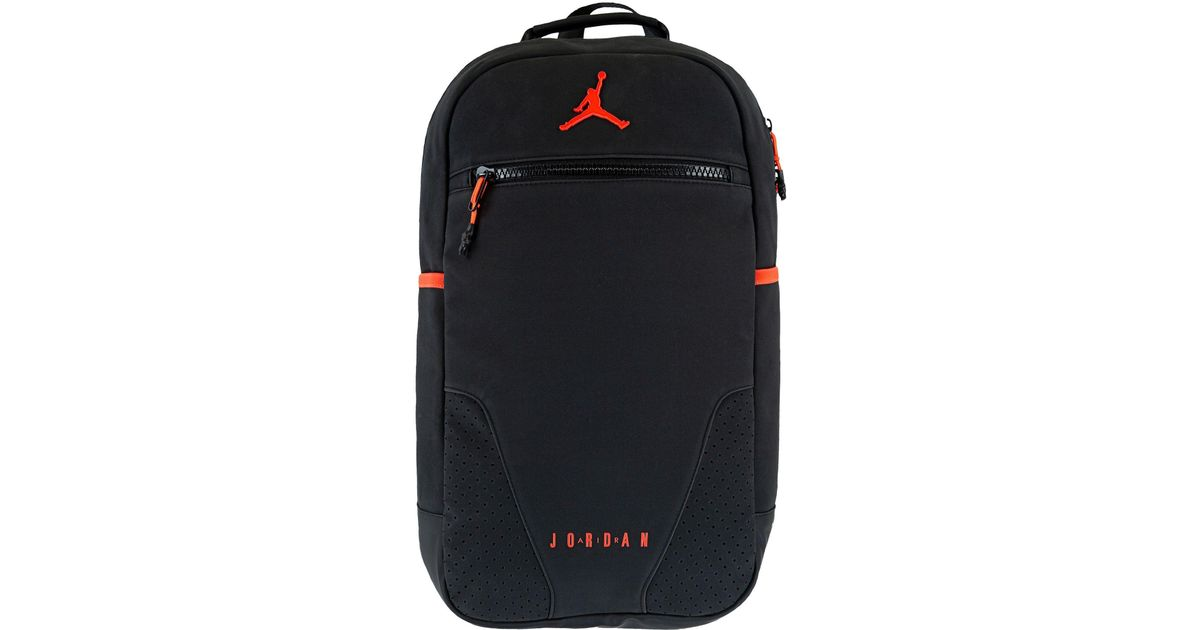 43a22081a7b Nike Retro 6 Backpack in Black for Men - Lyst