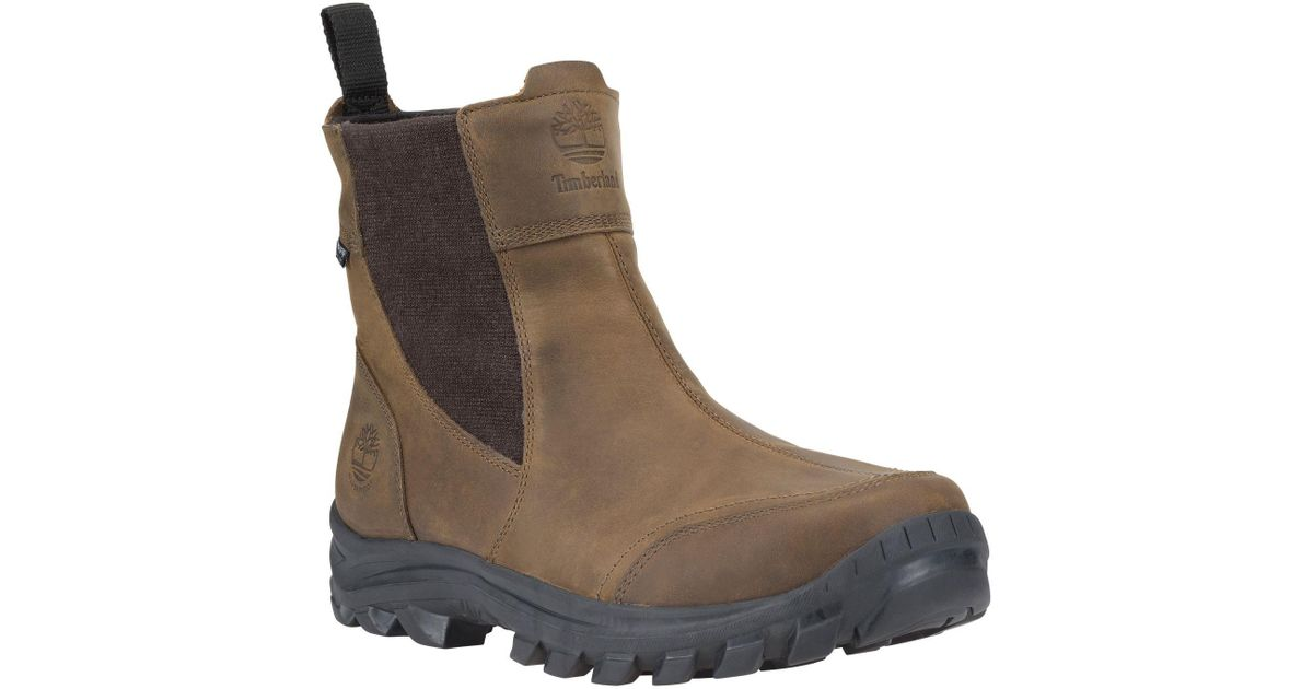 6b16f24dfa68 Lyst - Timberland Earthkeepers Chillberg Pull-on Waterproof 200g Winter  Boots in Brown for Men