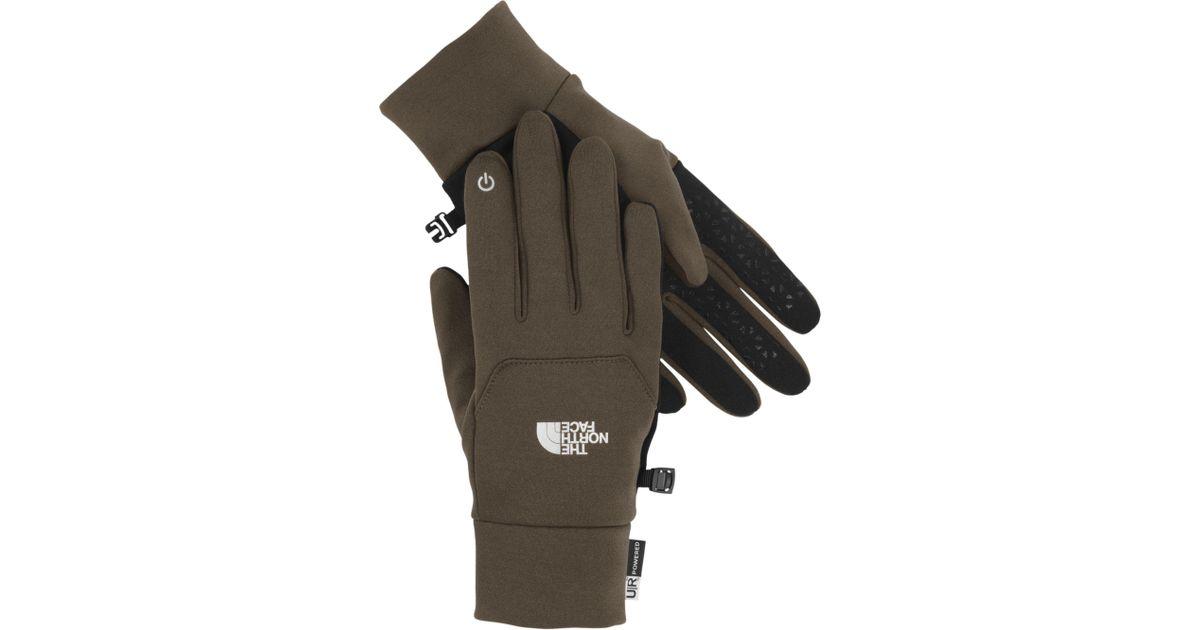 0b32412b7 The North Face Green Etip Gloves for men