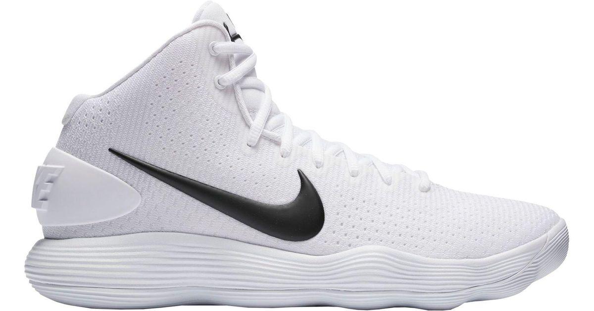 1efc8110f12d73 ... utterly stylish 2974c 09621 Lyst - Nike React Hyperdunk 2017 Basketball  Shoes in White for Men ...