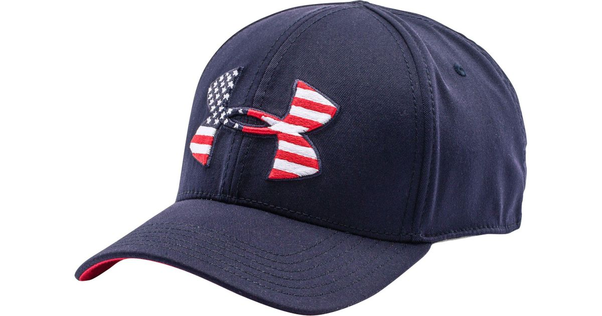 e79131de91 Under Armour Blue World Flag Low Crown Hat for men
