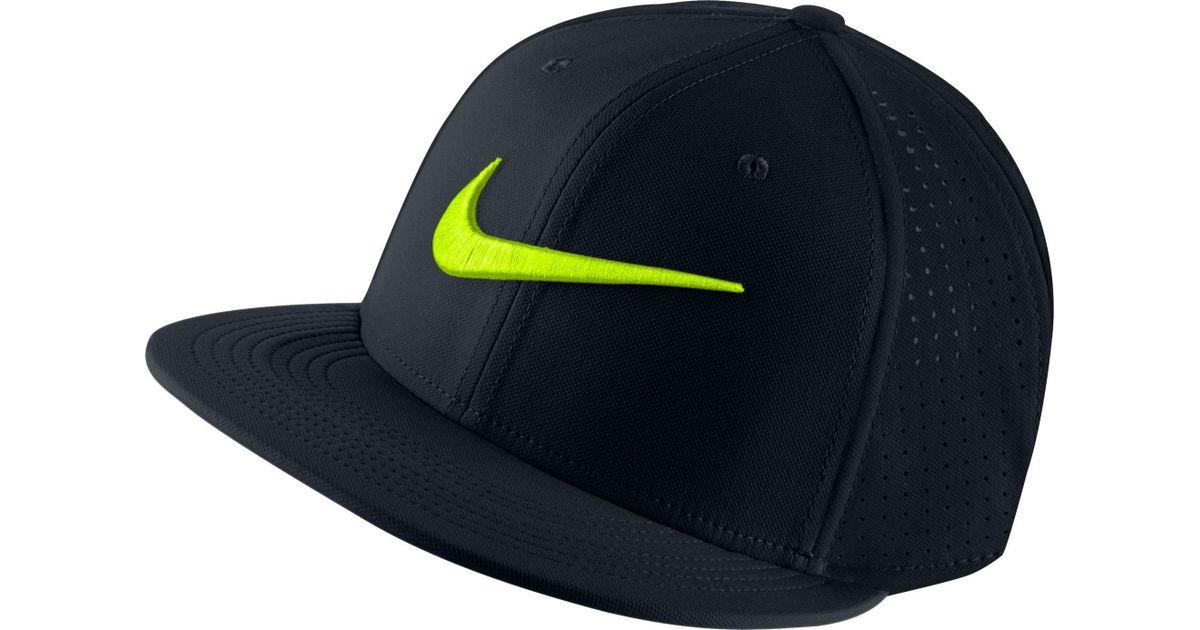 8468a3b93e3 Lyst - Nike Train Vapor True Hat in Black for Men