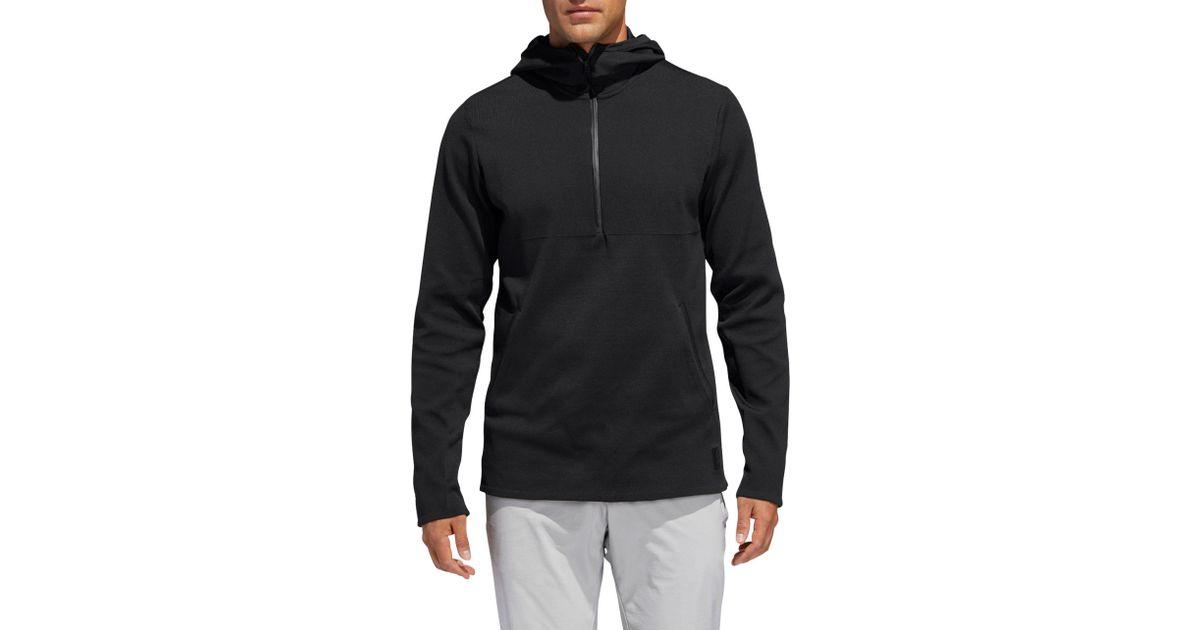 c463f8ad40 Adidas Black Adicross Primeknit Golf Hoodie for men