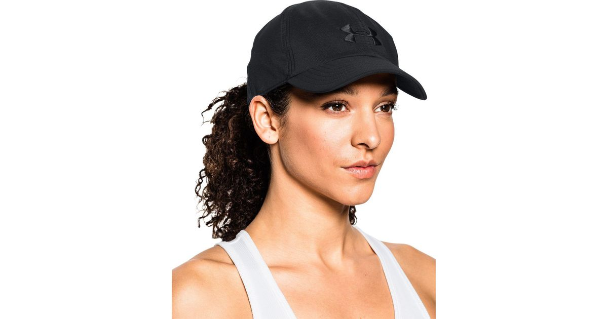 cf5a77f083492 Under Armour Renegade Hat in Black - Lyst