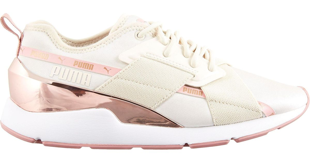PUMA Muse X-2 Metallic Shoes in Pink