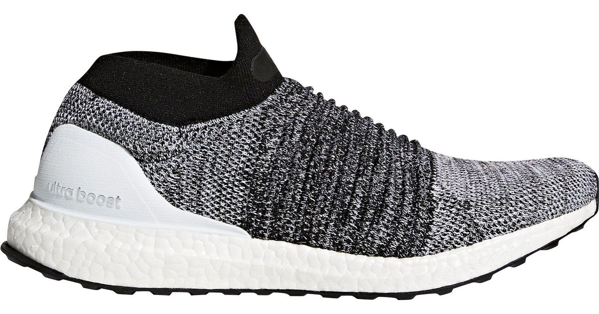 hot sale online 66358 68fba Adidas Black Ultra Boost Laceless Running Shoes