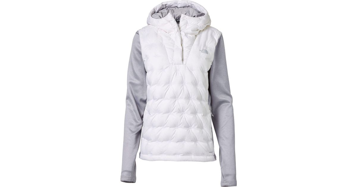 ef85741a0 The North Face White Mash-up Insulated Pullover