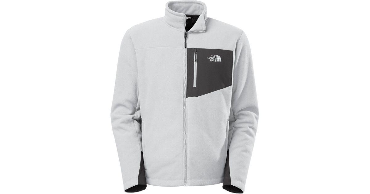 Lyst - The North Face Chimborazo Full Zip Fleece Jacket in Gray for Men b735301082c8