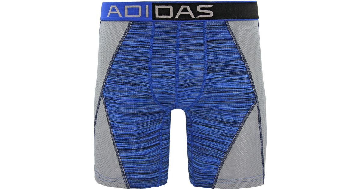 42e9eab7b259 Lyst - adidas Climacool 9'' Mesh Midway Briefs in Blue for Men