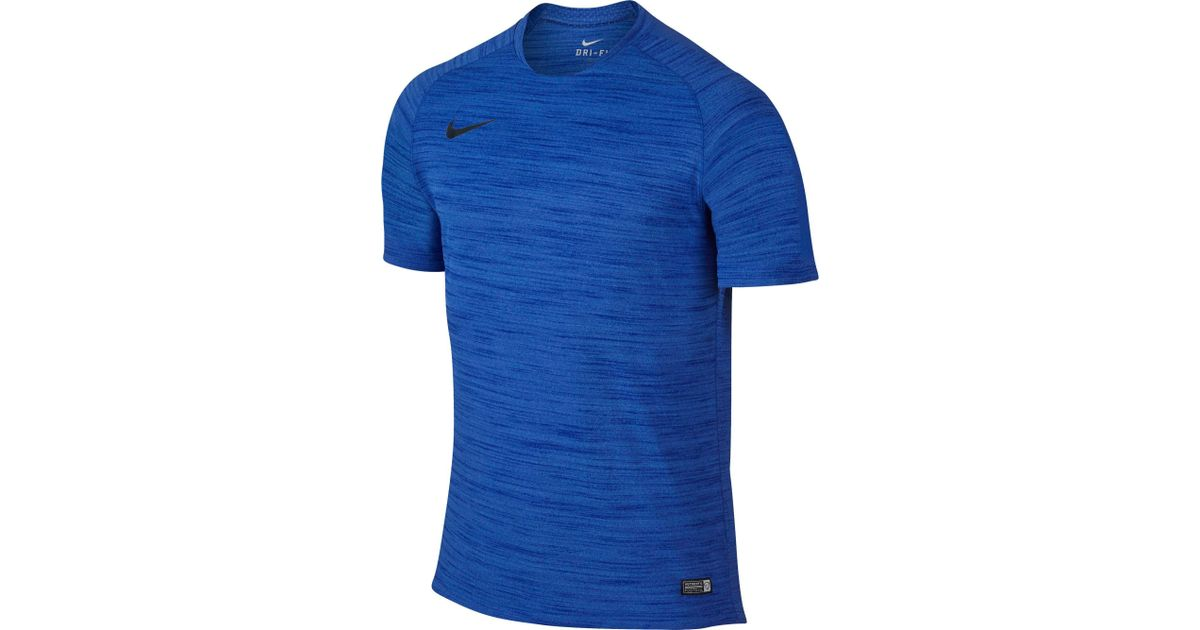 8fe9ded86 Nike Flash Dri-fit Cool Soccer T-shirt in Blue for Men - Lyst