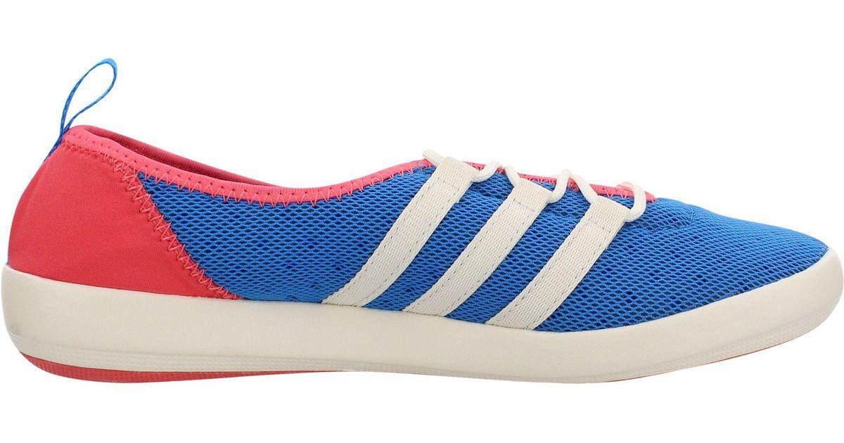 Adidas Originals Blue Outdoor Terrex Climacool Boat Sleek Water Shoes