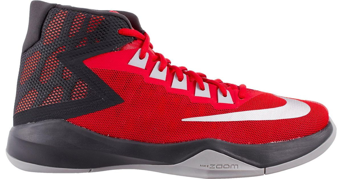 e024f3f4ed47 Lyst - Nike Zoom Devosion Basketball Shoes in Red for Men