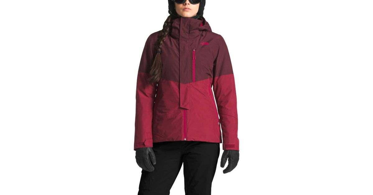 9b4d66ba9 The North Face Red Garner Triclimate Jacket