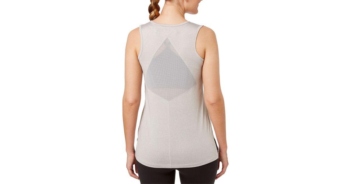 reebok women's performance mesh muscle tank top