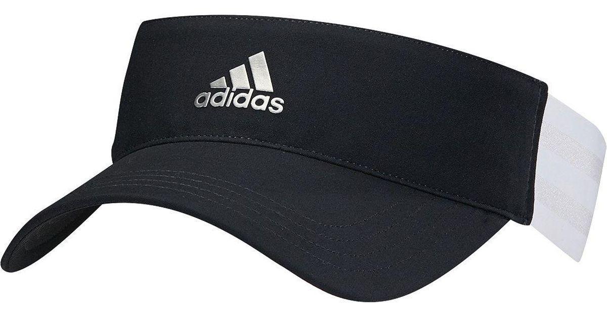 24b14b35 Lyst - adidas 3-stripes Golf Visor in Black