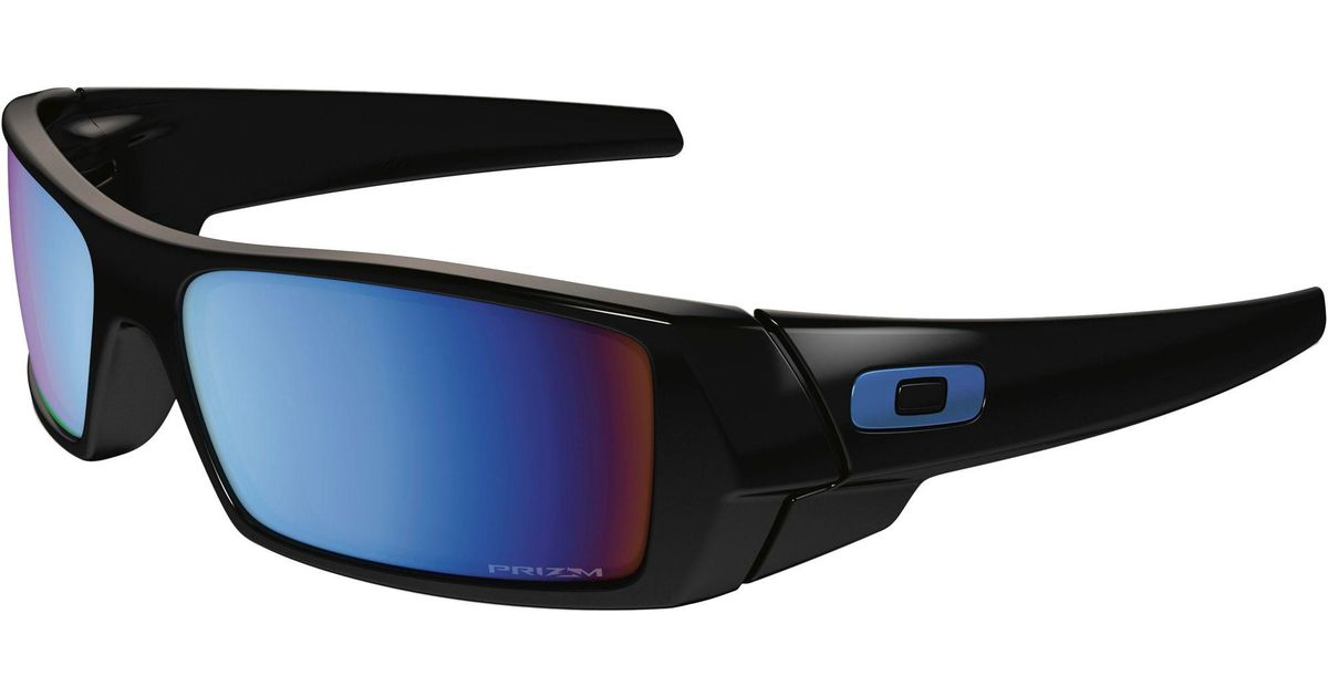 f62a8ab4d2 Oakley Gascan Prizm Deep Water Polarized Sunglasses in Black for Men - Lyst