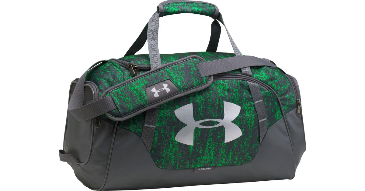b503340cc4d Under Armour Undeniable 3.0 Small Duffle Bag in Green for Men - Lyst