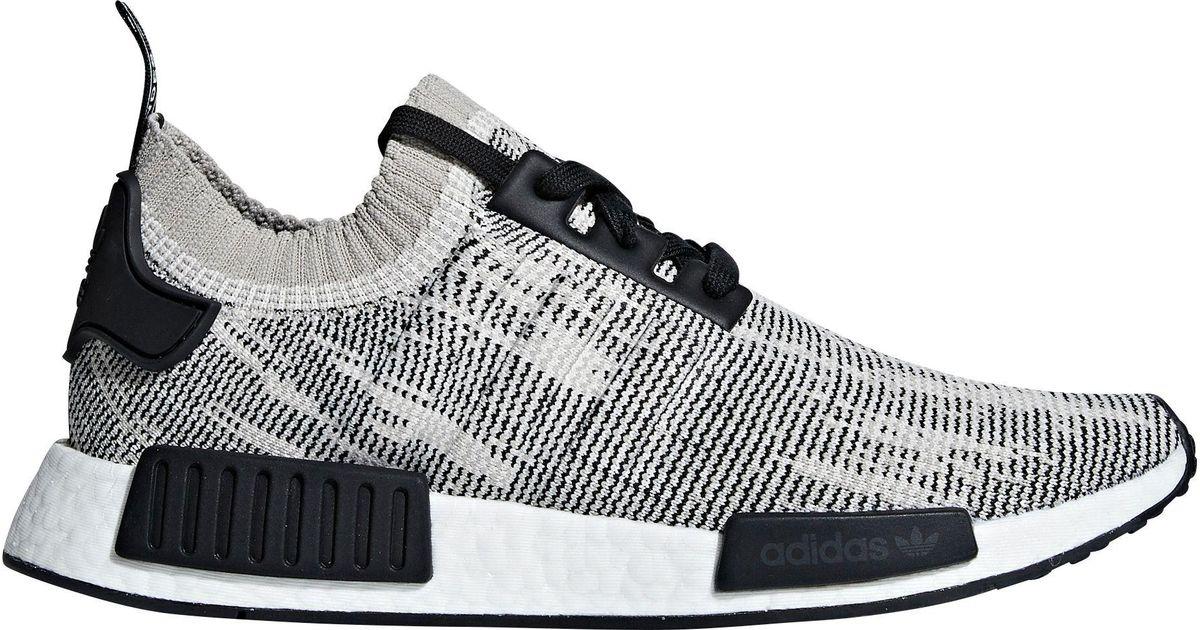 premium selection ea363 e5de3 Adidas Black Originals Nmd_r1 Stlt Primeknit Shoes for men