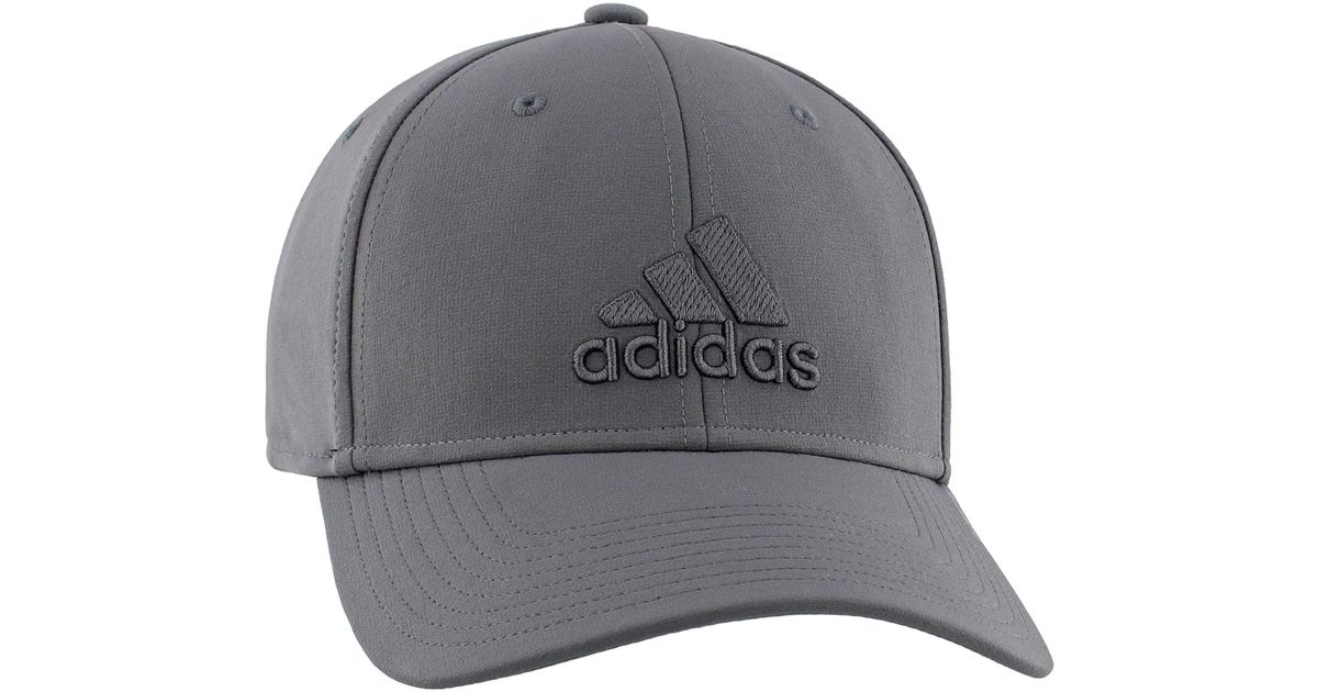 125f5adf0d3 Lyst - adidas Gameday Stretch Fit Hat in Gray for Men