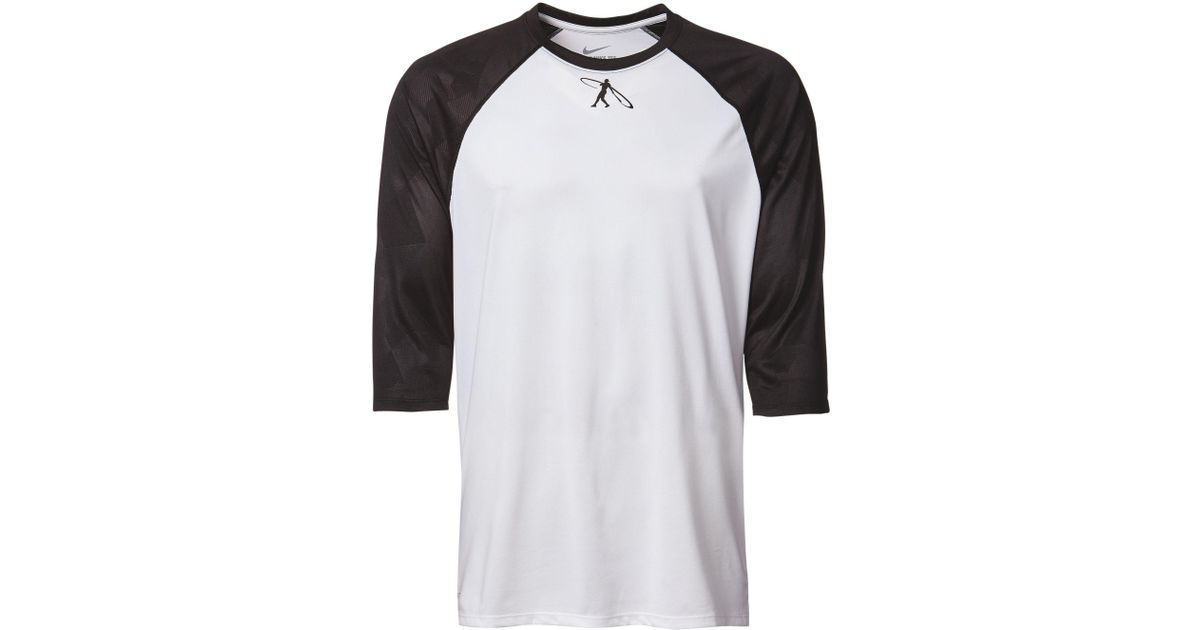 3e9e4746c98 Nike Swingman Legend 3⁄4 Sleeve Baseball Shirt in White for Men - Lyst