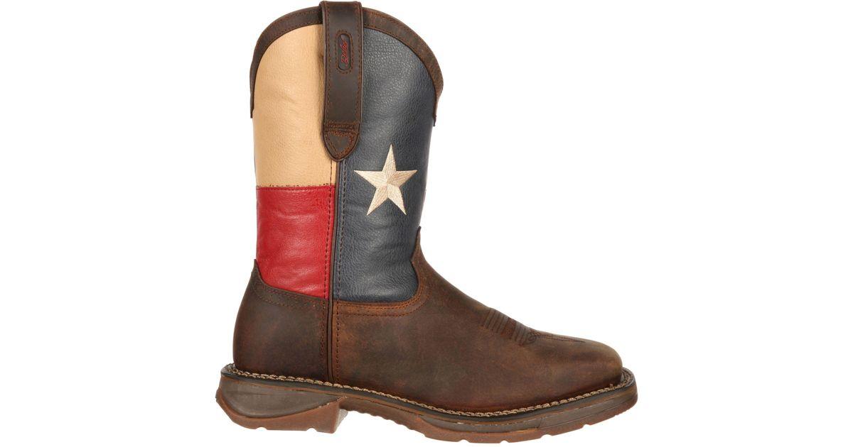 7a2f3e5fd3e Durango Brown Rebel Texas Flag 11