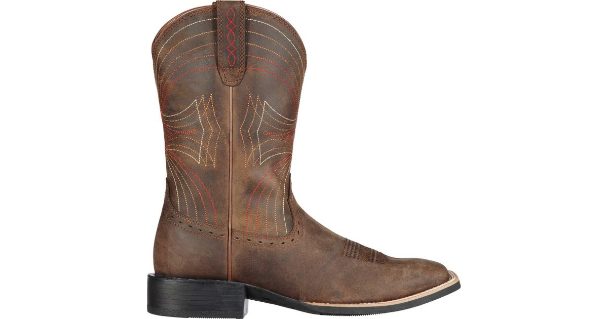 0855ef10617 Ariat - Brown Sport 11'' Wide Square Toe Work Boots for Men - Lyst