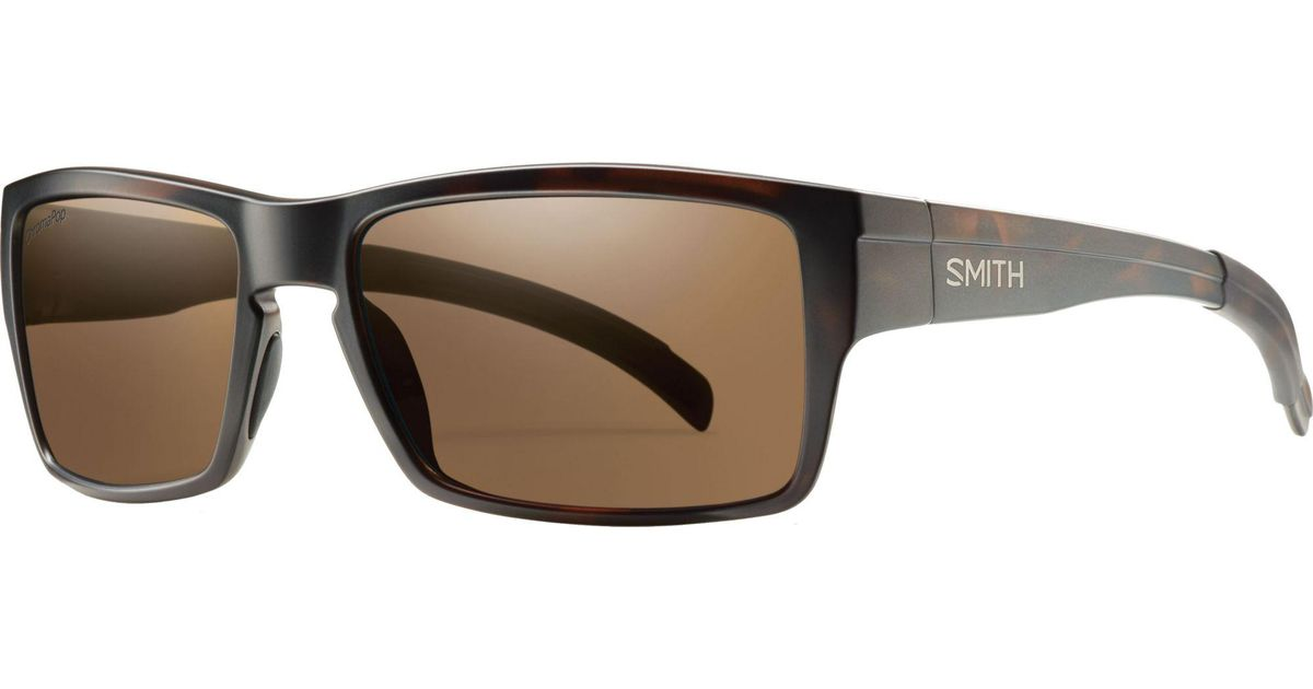 6af1b059dd Lyst - Smith Optics Outlier Polarized Sunglasses in Brown for Men
