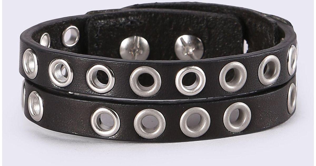 Diesel A-Hoddelas bracelet - Black EPepMwBmXU