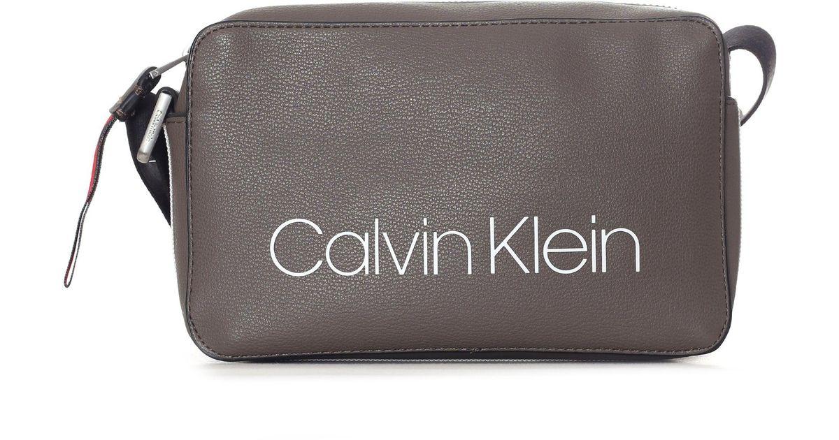 05ad6ad782e Calvin Klein Collegic Small Crossbody Bag - Lyst