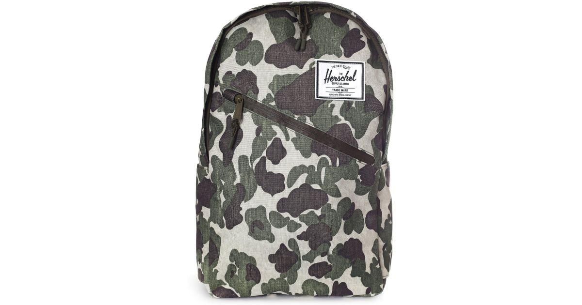 9869bc8e367 Herschel Supply Co. Men s Parker Backpack Frog Camo for Men - Lyst