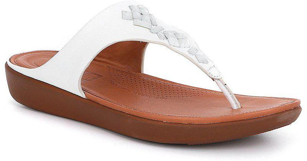 FitFlop Banda Toe Post Jewel Sandals FdkLvr5rva