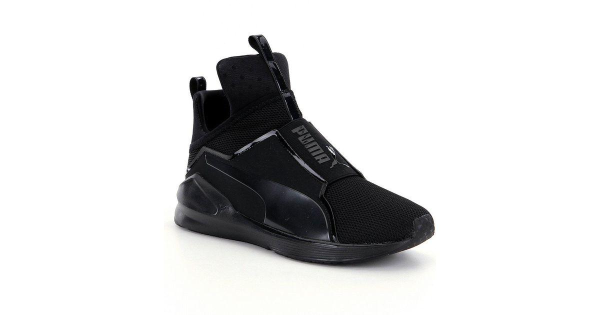 new style 4ef9d 3e46a PUMA Black Women's Fierce Core High-top Sneakers for men