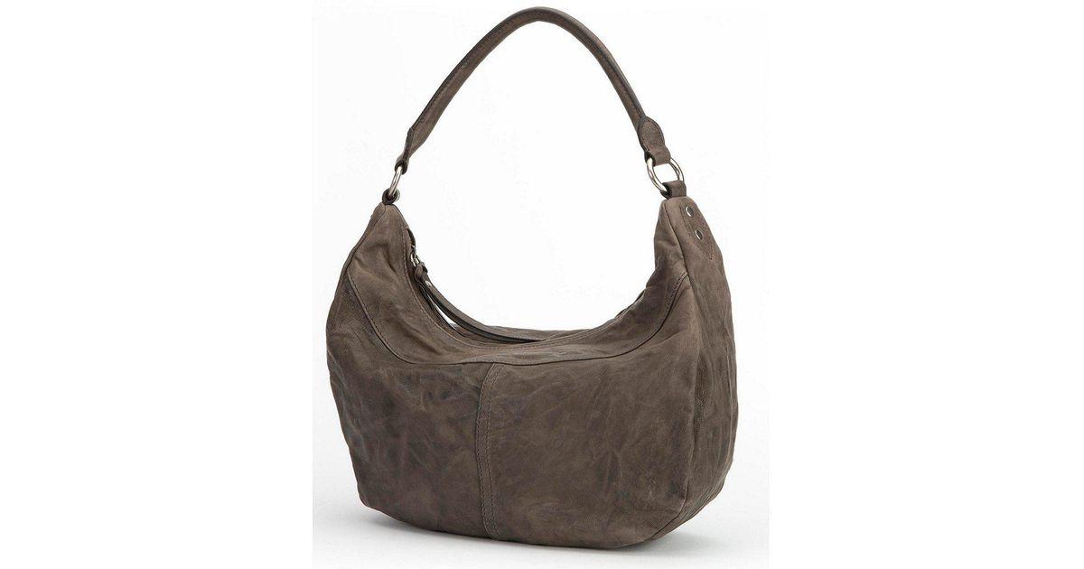 Lyst - Frye Veronica Zip Hobo Bag in Gray d8cd6258f8501