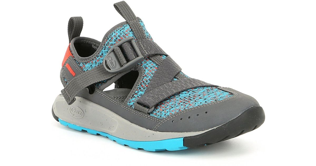 e20984d7c7d0 Lyst - Chaco Odyssey Closed Toe Sandals in Blue