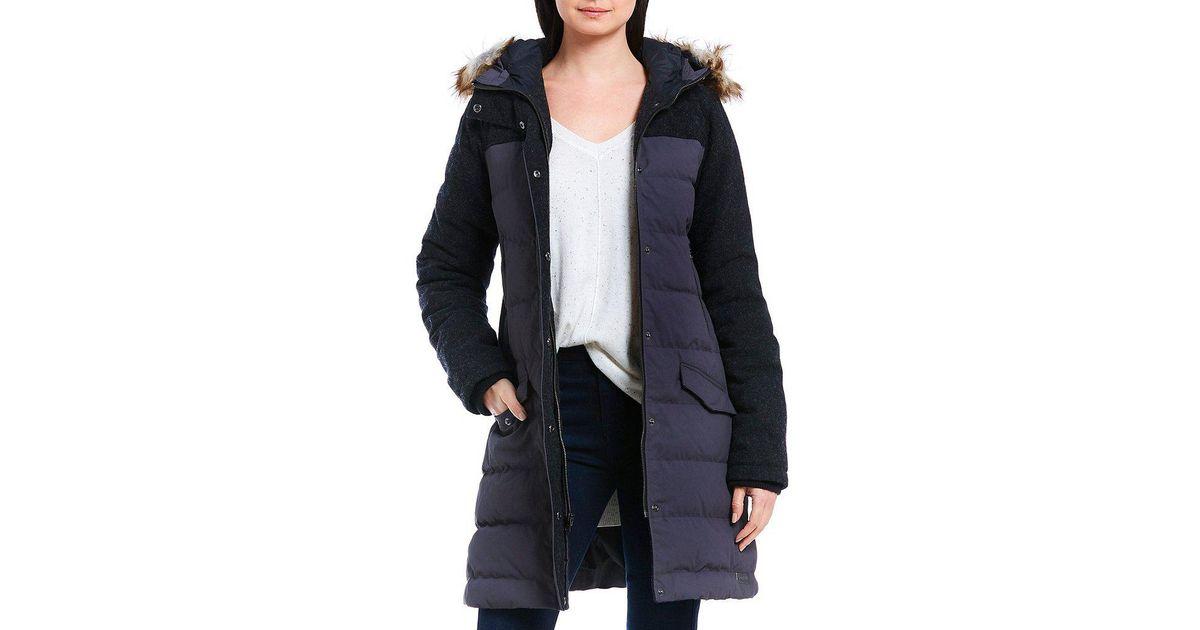 2871069c8 Sorel Gray Tivoli Long Down Jacket