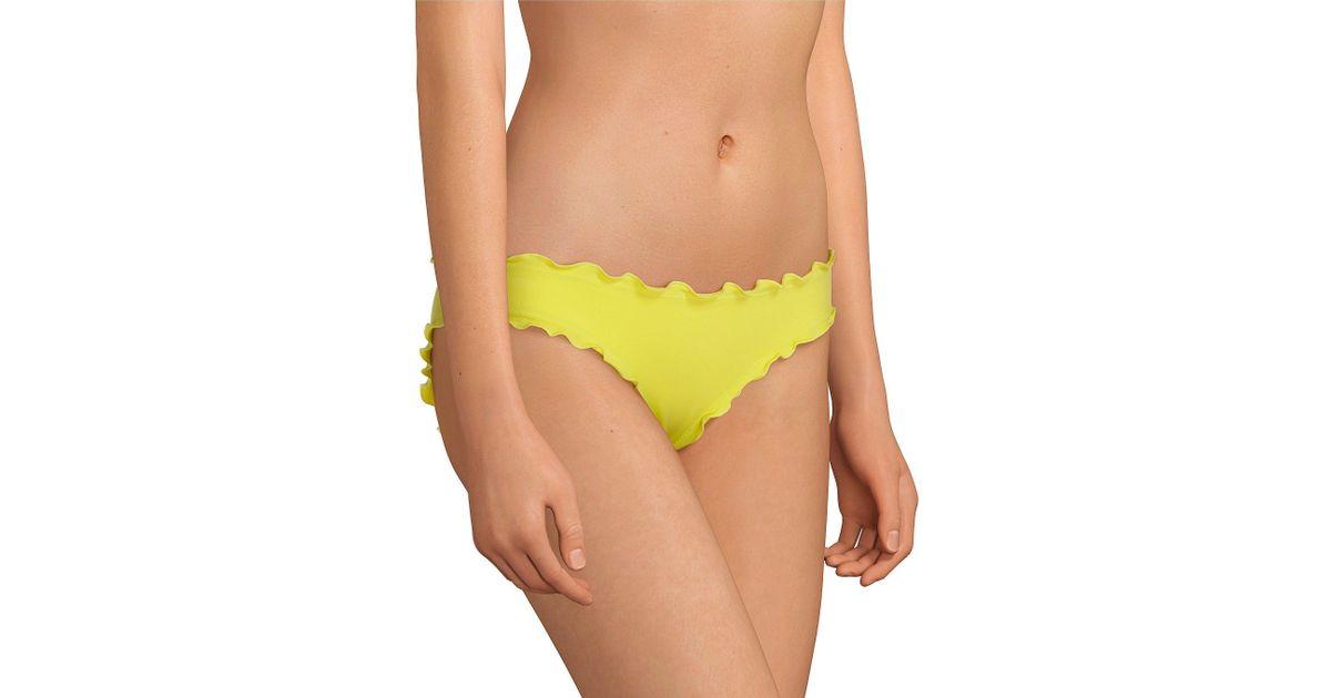 COCO RAVE Womens High Waist Bikini Bottom Swimsuit with Tassel Detail