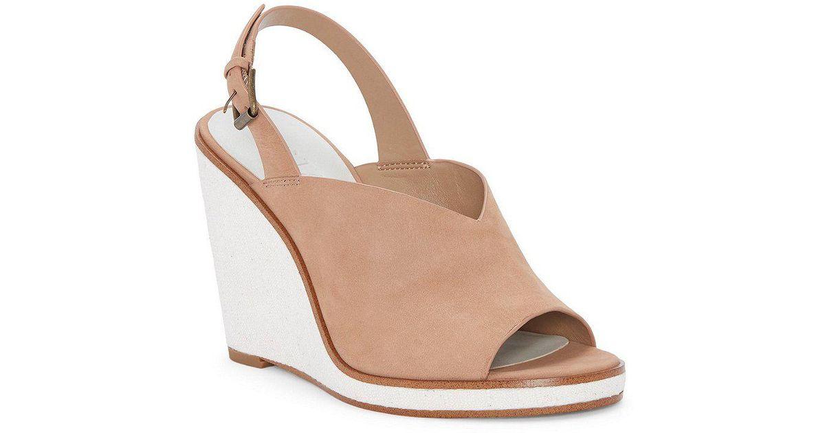 Felidia Ankle Wrap Peep Toe Wedge Sandals VWV58n