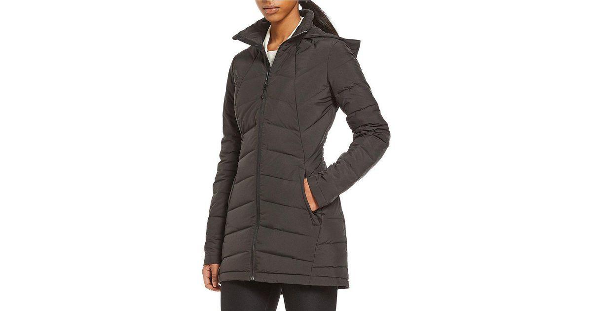 b3fe26a6a Spyder Black Syrround Long Down Hooded Coat