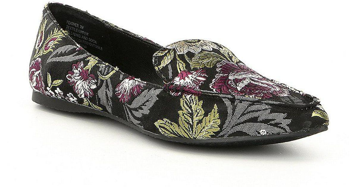 Feather Floral Loafers ivQQoUg