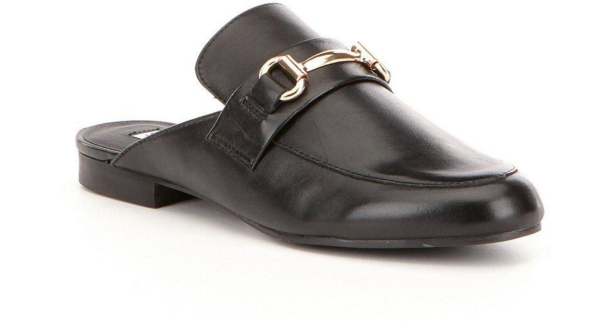 129e08808c1 Steve Madden - Black Kandi Leather Dress Mules - Lyst