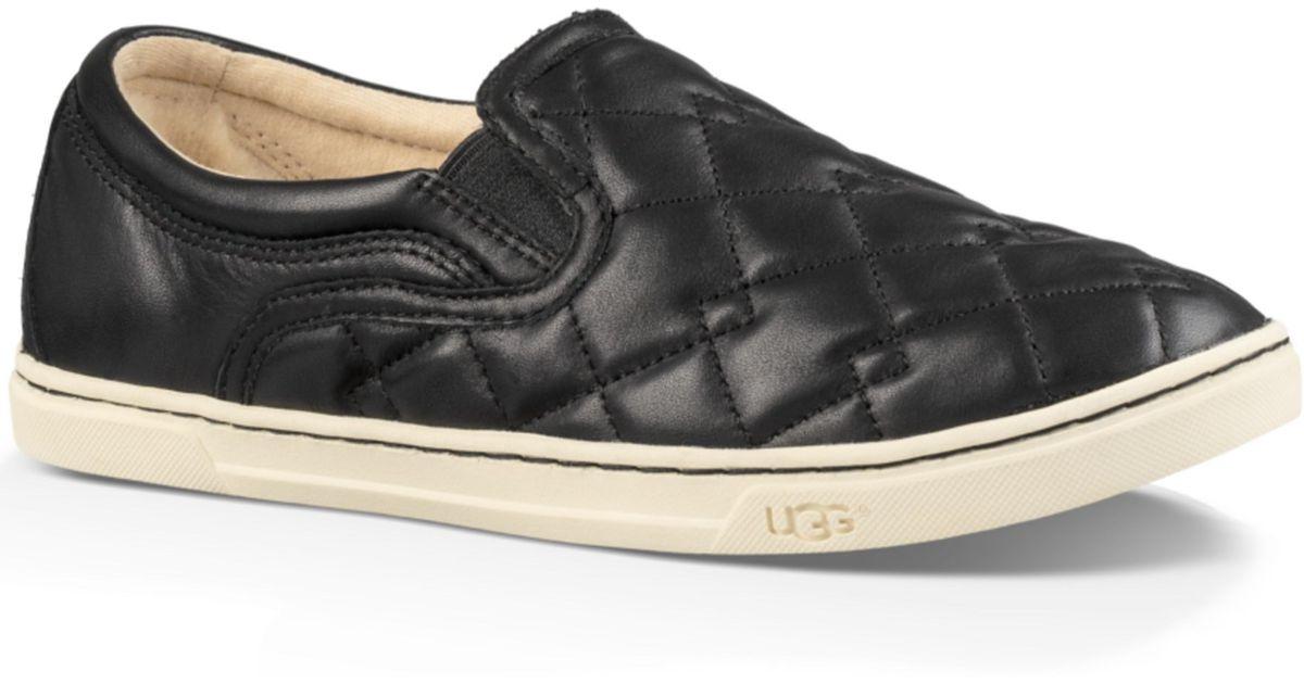 Lyst Ugg 174 Fierce Deco Quilt Sneakers In Black