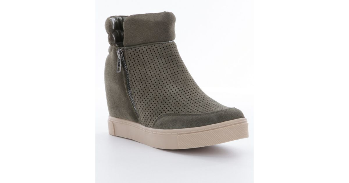 1e53d92ccaf2 Lyst - Steve Madden Linqsp Wedge Sneakers