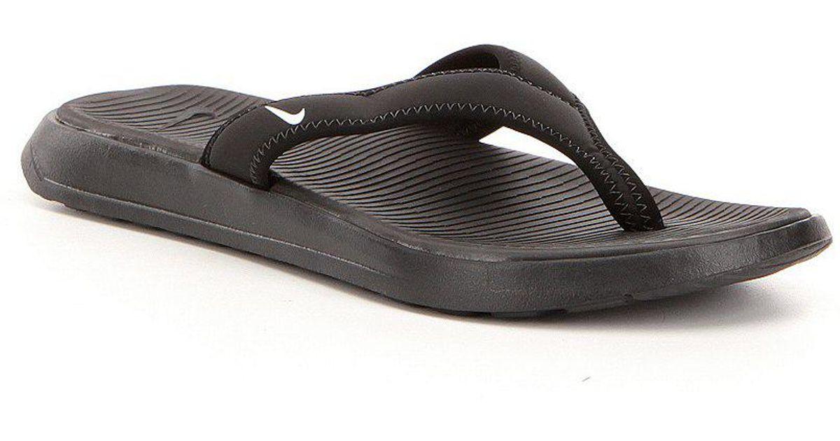 783ed4bdf8622a Lyst - Nike Men ́s Ultra Celso Lightweight Elastic Slip On Thong Sandals in  Black for Men