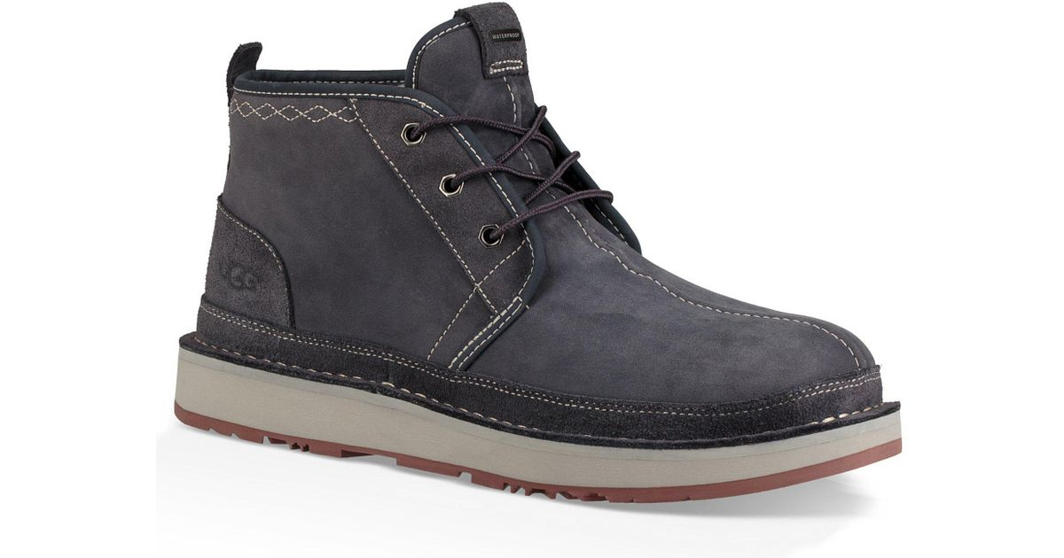 410a06a168e Ugg Blue Men's Avalanche Neumel Waterproof Boot for men