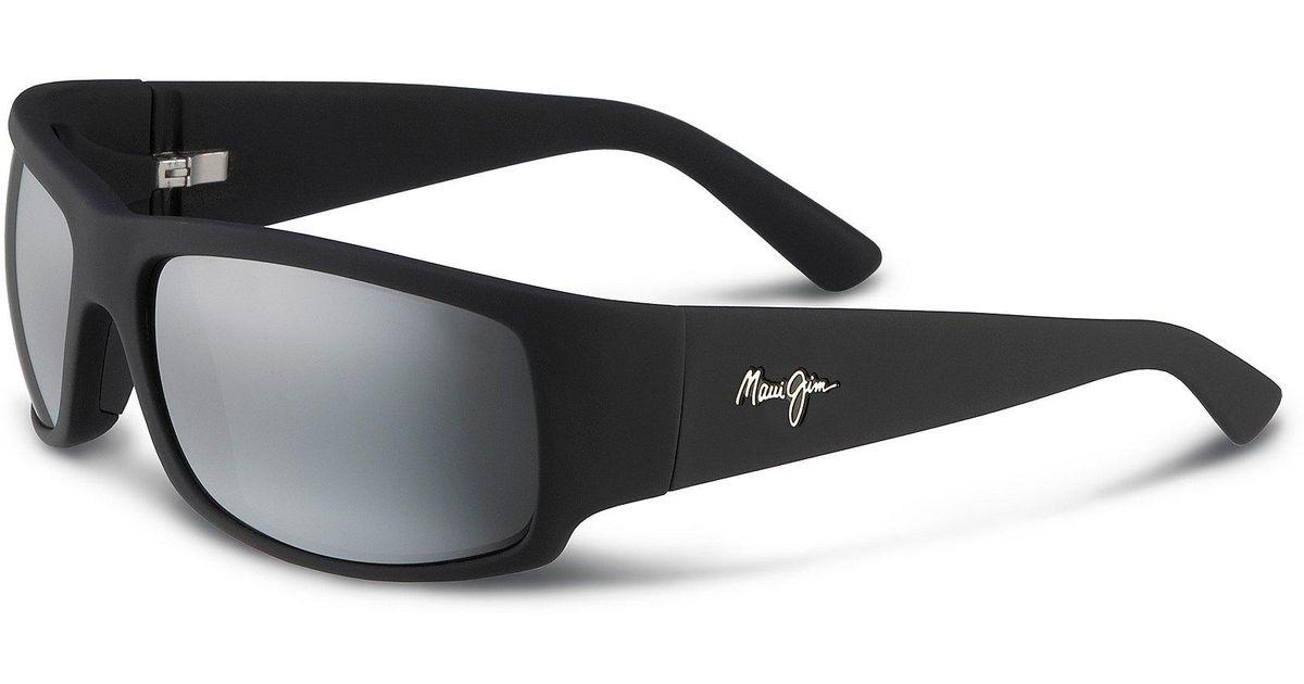 bebe9285e88 Lyst - Maui Jim World Cup Polarized Sunglasses in Black for Men