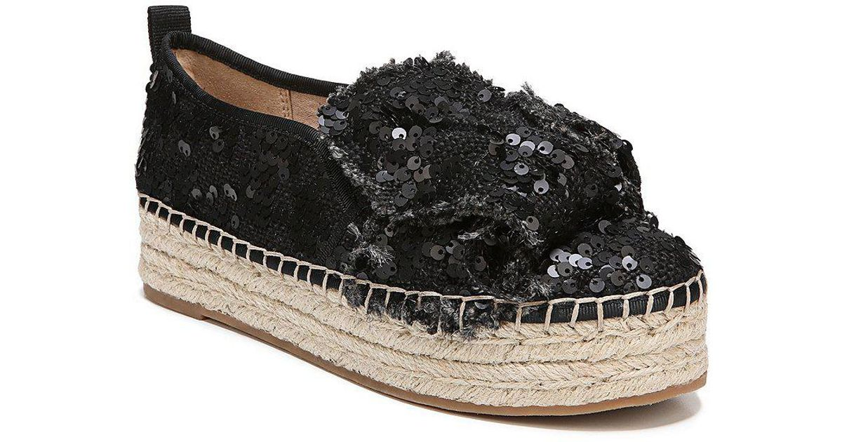 Cabrera Sequin Bow Detail Espadrilles CLBS6Z