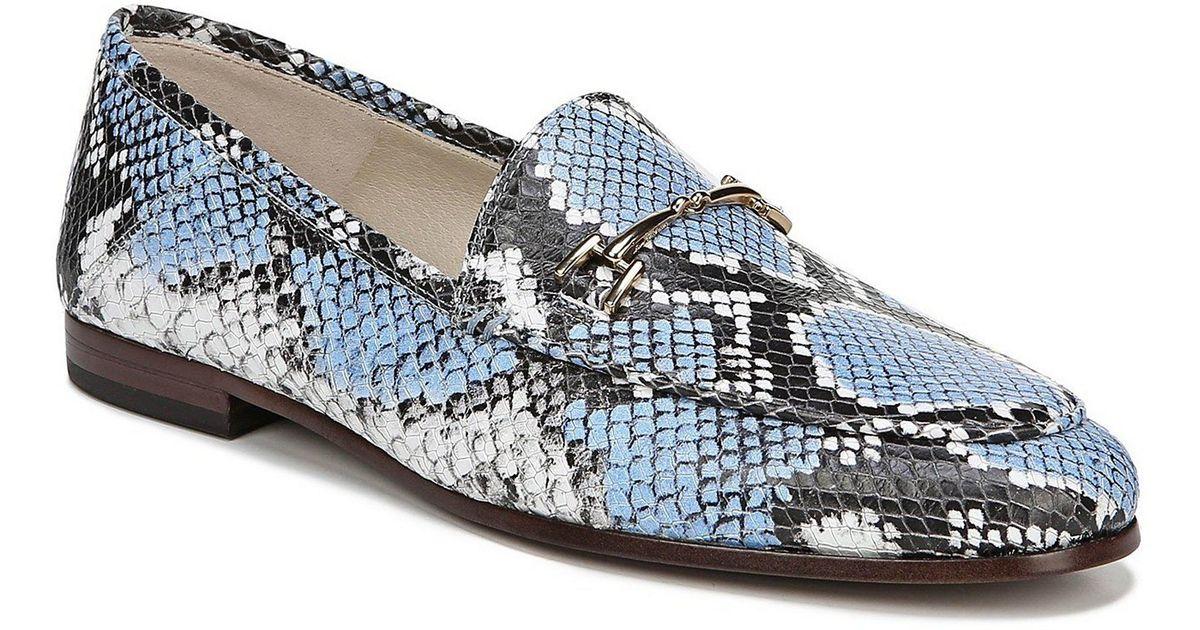 02cf086a8db Lyst - Sam Edelman Loraine Loafers in Blue - Save 30%